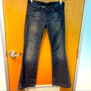 CITIZENS OF HUMANITY Dunaway stretch Sz 29